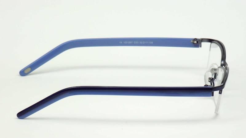 Oprawa okularowa VD1207 C03 Verdi - granat/niebies