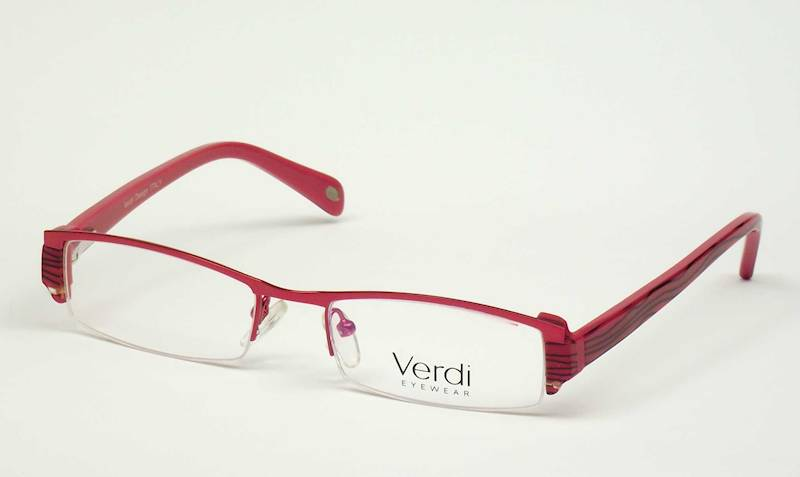 Oprawa okularowa VD1203 C02 Verdi - czerwony