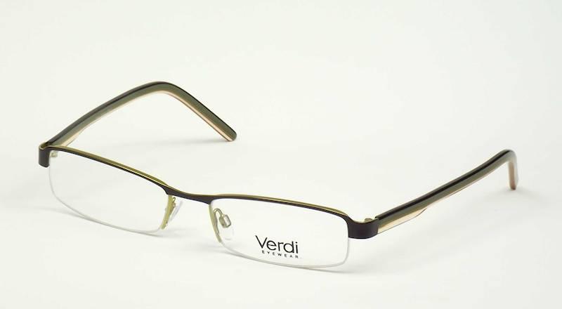 Oprawa okularowa VD1102 C02 Verdi - brąz/orange