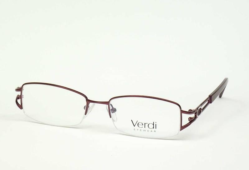 Oprawa okularowa VD1209 C01 Verdi - burgund