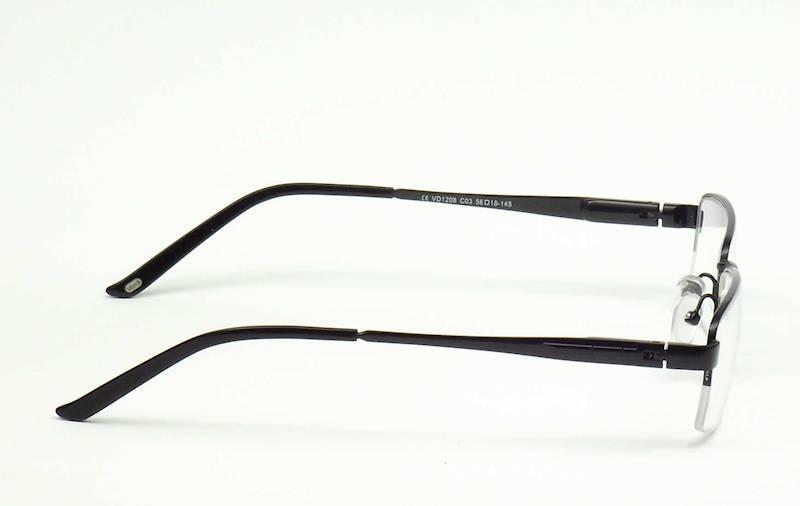 Oprawa okularowa VD1208 C03 Verdi - czarny m CLIP