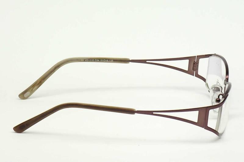 Oprawa okularowa VD1210 C04 Verdi - brąz mat