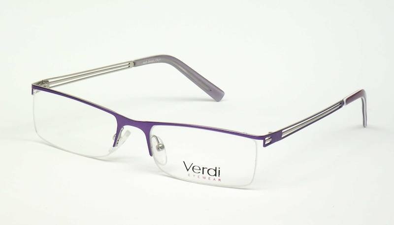 Oprawa okularowa VD1116 C02 Verdi - purpura/srebrn