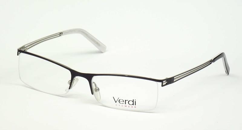 Oprawa okularowa VD1116 C01 Verdi - czarny/srebrny
