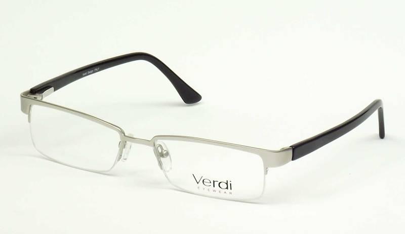 Oprawa okularowa VD1112 C01 Verdi - srebrno/czarny
