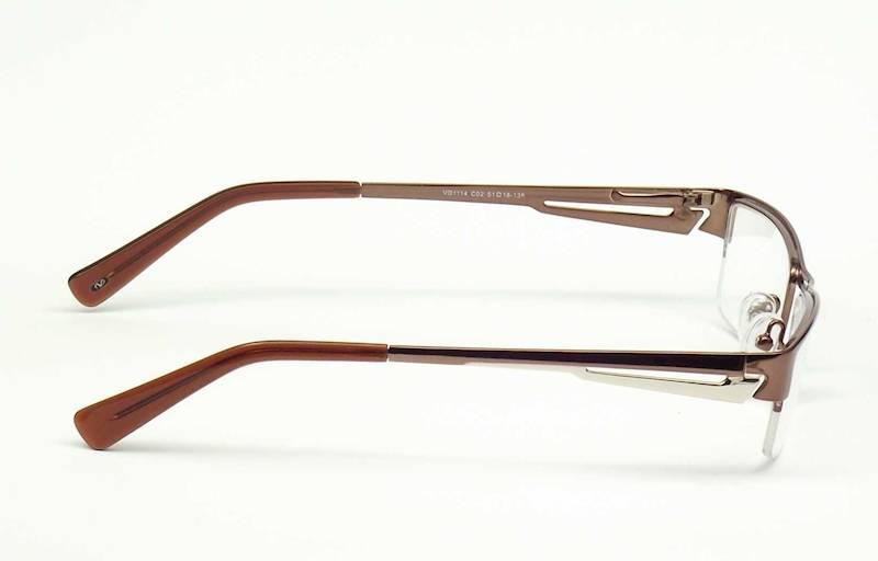 Oprawa okularowa VD1114 C02 Verdi - brąz/złoto