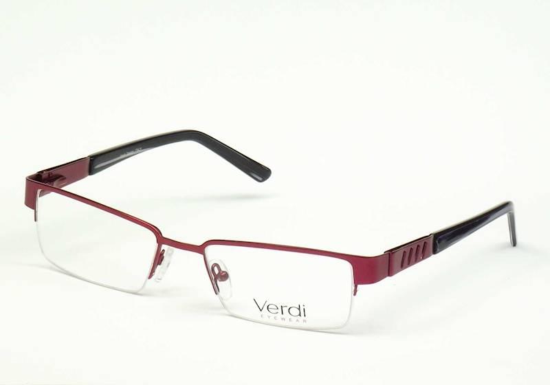 Oprawa okularowa VD1113 C03 Verdi - burgund/czarny