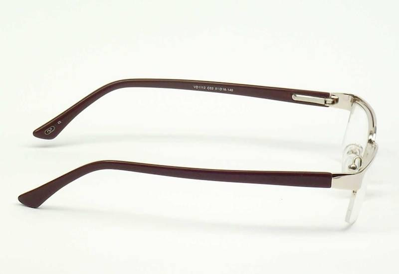 Oprawa okularowa VD1112 C03 Verdi - złoty/brąz