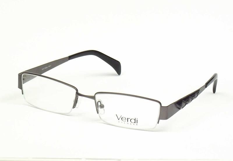 Oprawa okularowa VD1109 C02 Verdi - gun/czarny