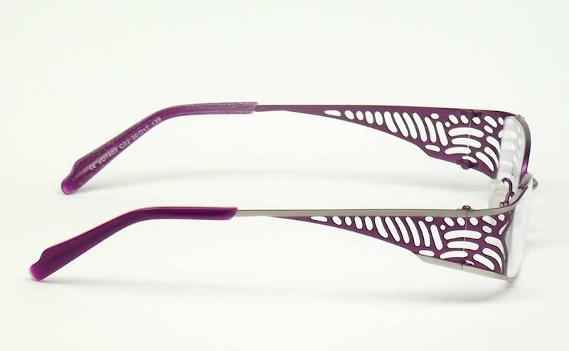 Oprawa okularowa VD1403 C02 Verdi - srebrny/purpur