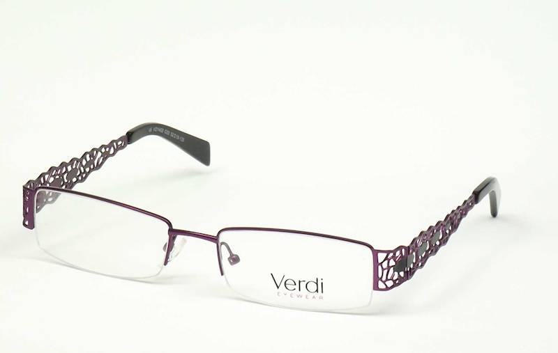Oprawa okularowa VD1402 C03 Verdi - purpura/czarny