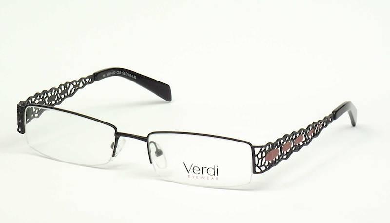 Oprawa okularowa VD1402 C02 Verdi - czarny/czerwon