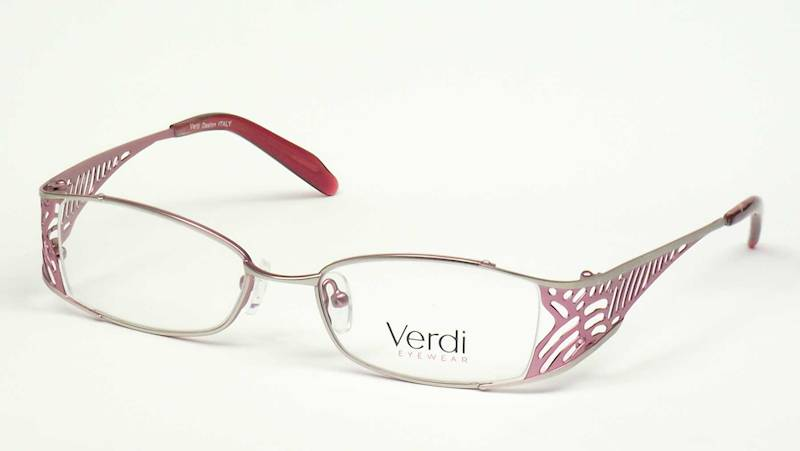 Oprawa okularowa VD1403 C04 Verdi - srebrny/róż