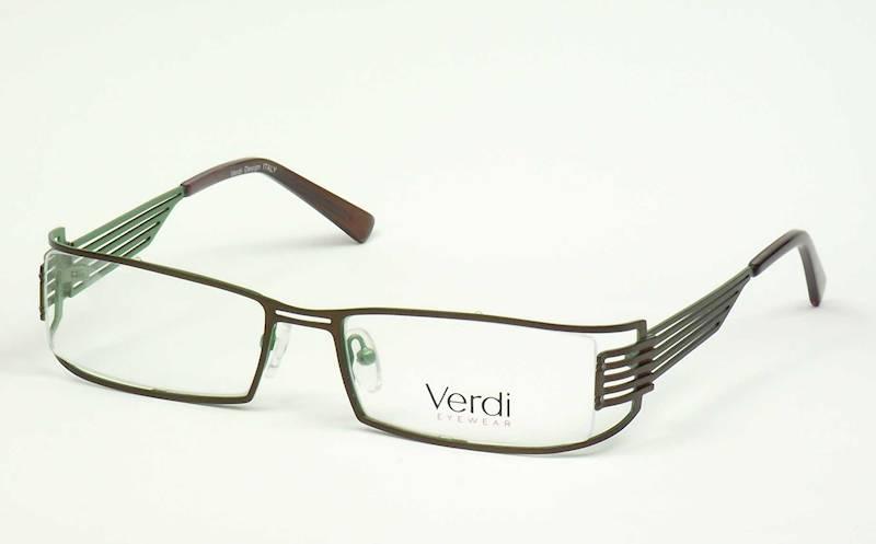 Oprawa okularowa VD1401 C02 Verdi - brąz/zielony