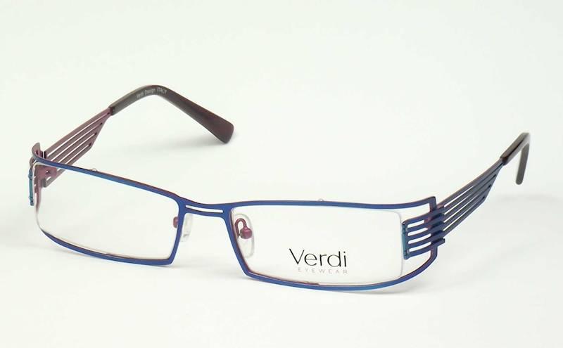Oprawa okularowa VD1401 C01 Verdi - niebieski/róż
