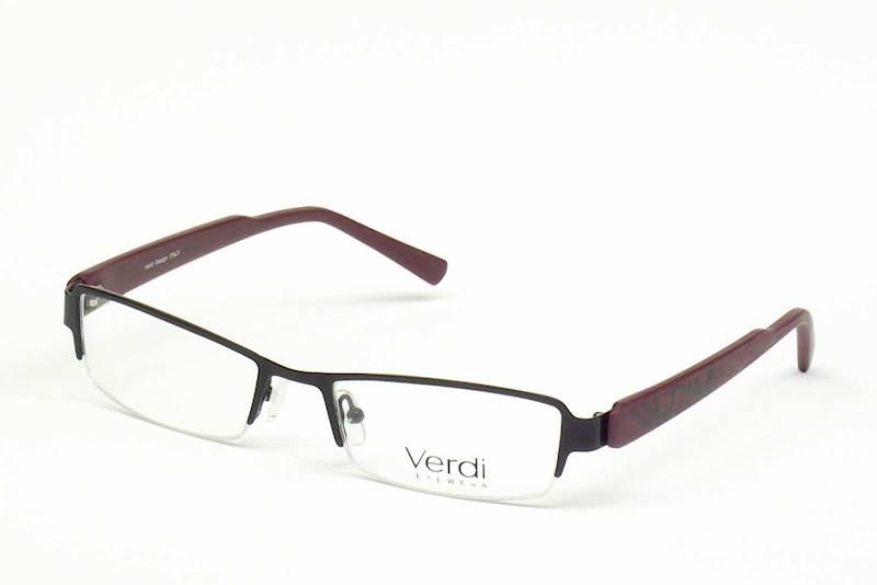 Oprawa okularowa VD1110 C02 Verdi - czarny/pur-cza