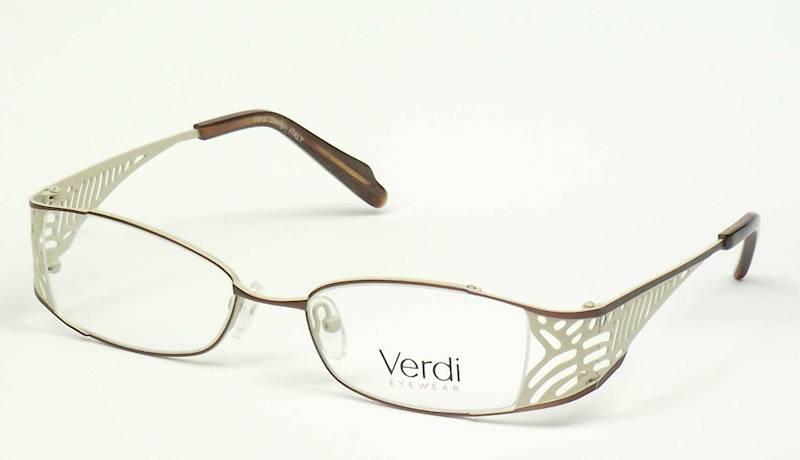 Oprawa okularowa VD1403 C03 Verdi - brąz/beż