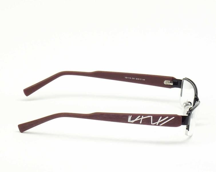 Oprawa okularowa VD1110 C01 Verdi - czarny/pur-bia