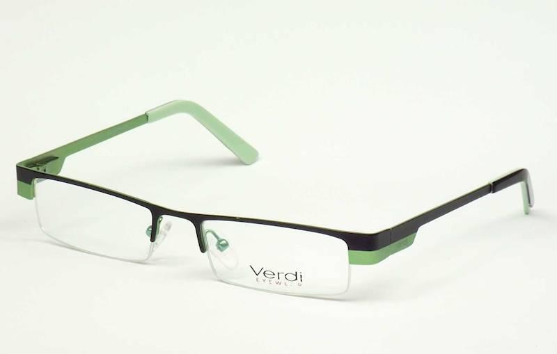 Oprawa okularowa VD1302 C03 Verdi - czarny/seledyn