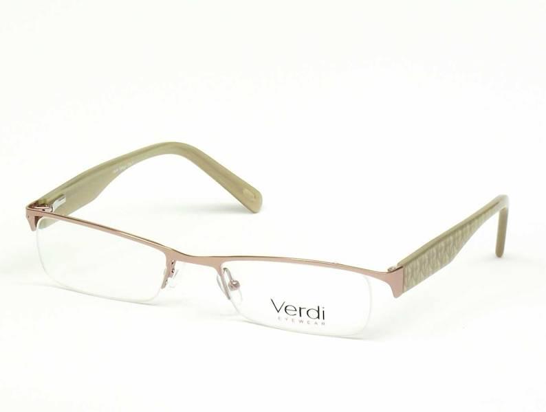 Oprawa okularowa VD1128 C01 Verdi - różowy/j.brąz