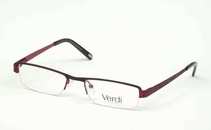 Oprawa okularowa VD1126 C01 Verdi - czarny/burgund