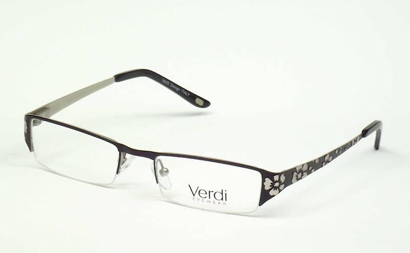 Oprawa okularowa VD1125 C02 Verdi - czarny/srebrny