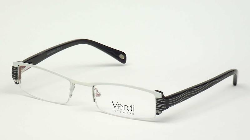 Oprawa okularowa VD1203 C01 Verdi - biały/czarny