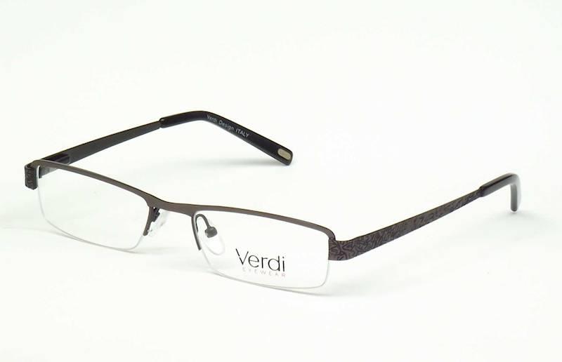 Oprawa okularowa VD1126 C03 Verdi - gun/czarny