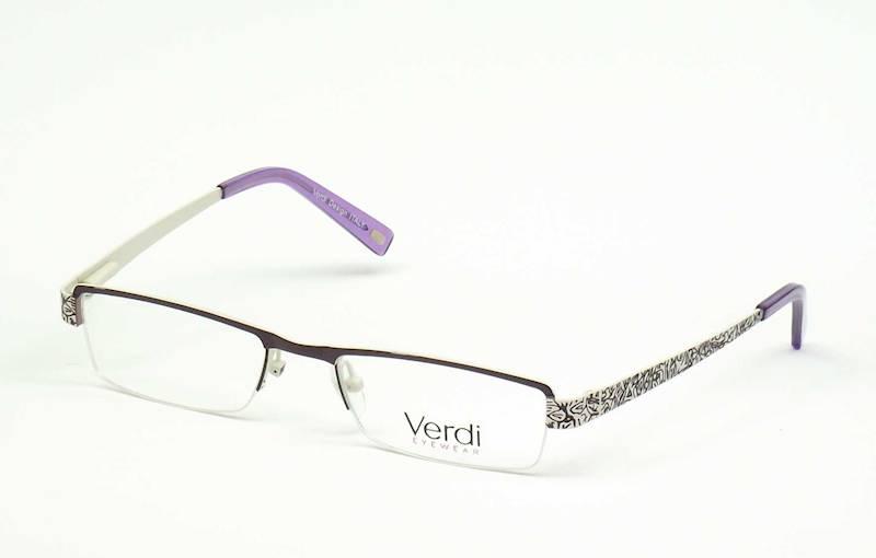 Oprawa okularowa VD1126 C02 Verdi - fiolet/beż