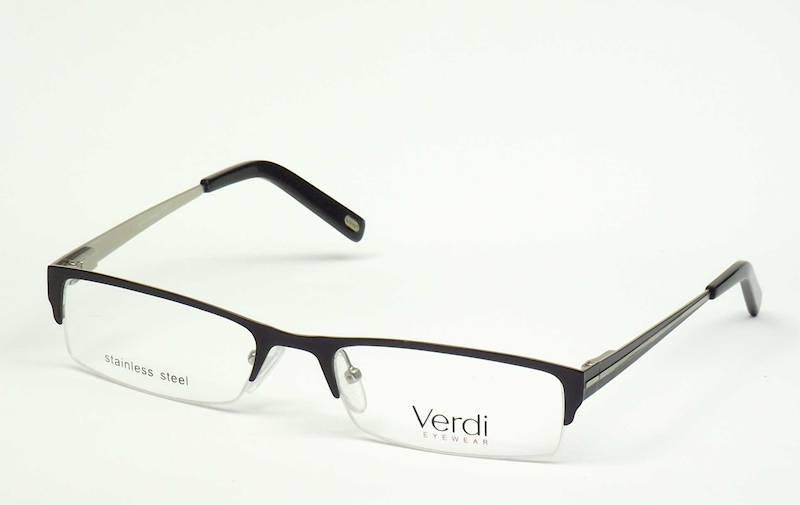 Oprawa okularowa VD1124 C04 Verdi - gun/czarny