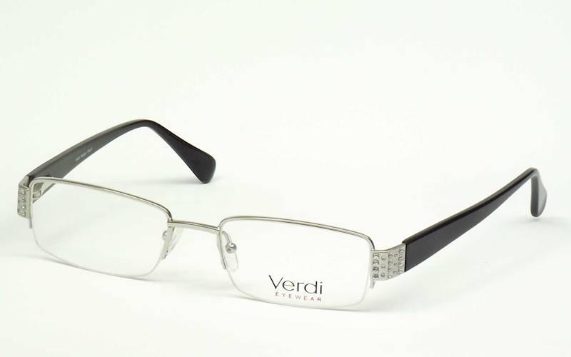 Oprawa okularowa VD1120 C01 Verdi - srebro/czarny