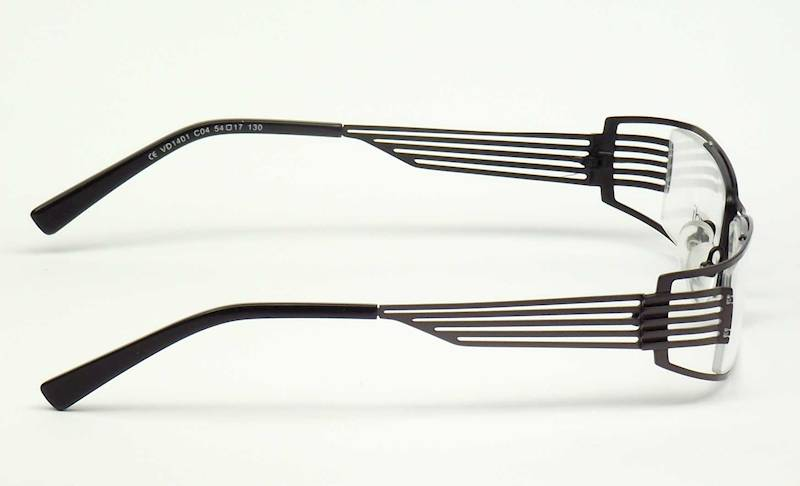 Oprawa okularowa VD1401 C04 Verdi - gun/czarny