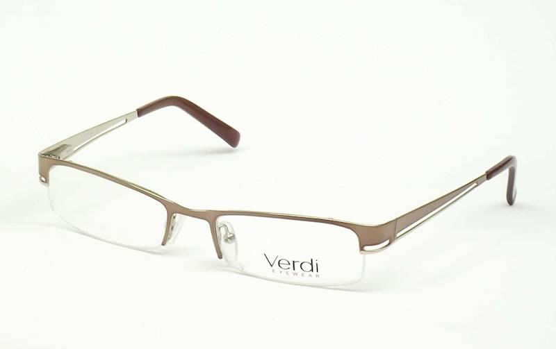 Oprawa okularowa VD1119 C03 Verdi - j.brąz/złoto