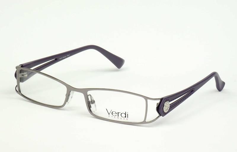 Oprawa okularowa VD1117 C01 Verdi - gun/purpura