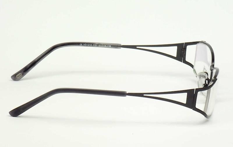 Oprawa okularowa VD1210 C01 Verdi - czarny