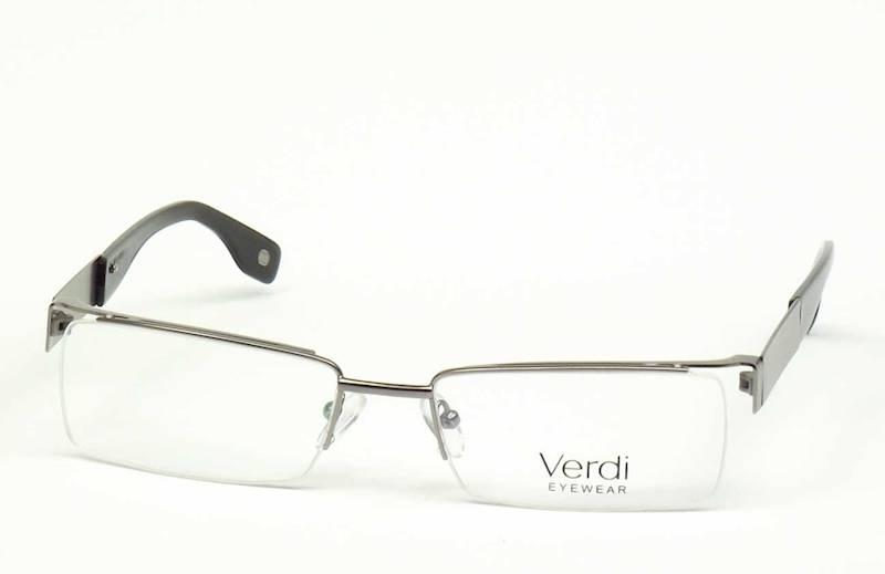 Oprawa okularowa VD1215 C02 Verdi - gun/czarny