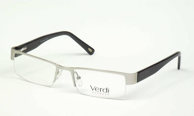 Oprawa okularowa VD1132 C02 Verdi - srebrny/czarny