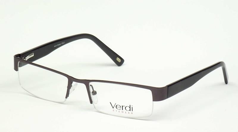 Oprawa okularowa VD1132 C01 Verdi - gun/czarny