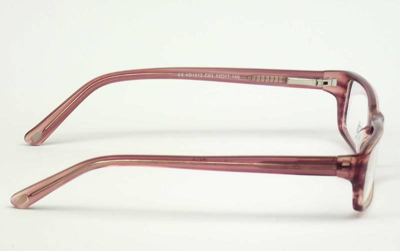 Oprawa okularowa VD1212 C03 Verdi - wrzos