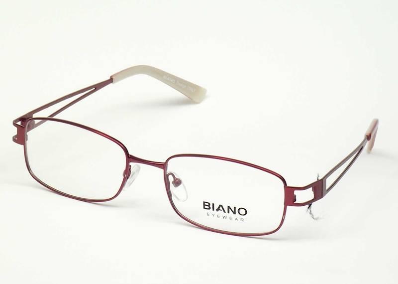 Oprawa okularowa BN1004 C03 Biano - burgund