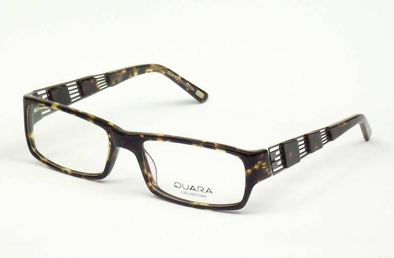 Oprawa okularowa QR1010 C01 Quara - brąz/gun