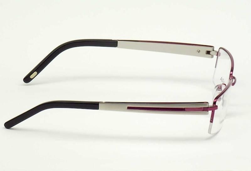 Oprawa okularowa QR1006 C04 Quara - fiolet/srebro