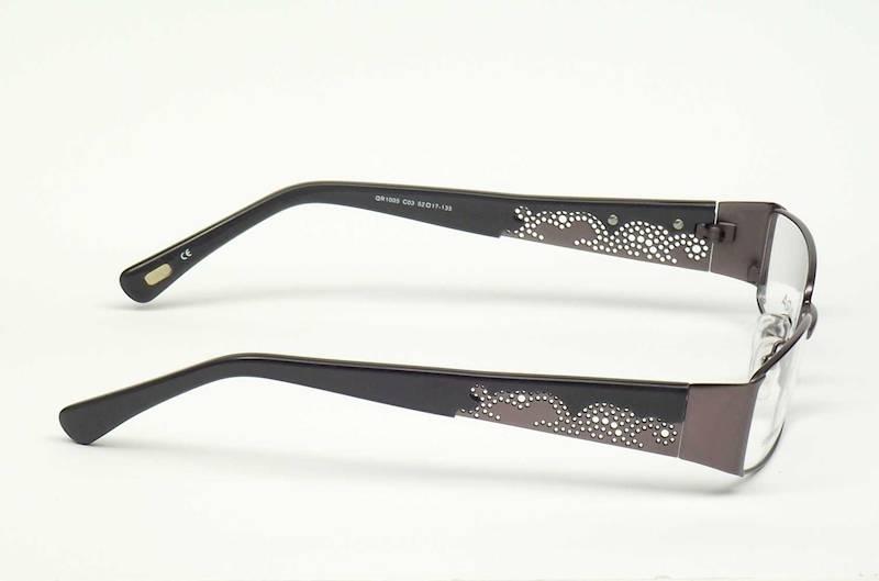 Oprawa okularowa QR1005 C03 Quara - gun/c.siwy