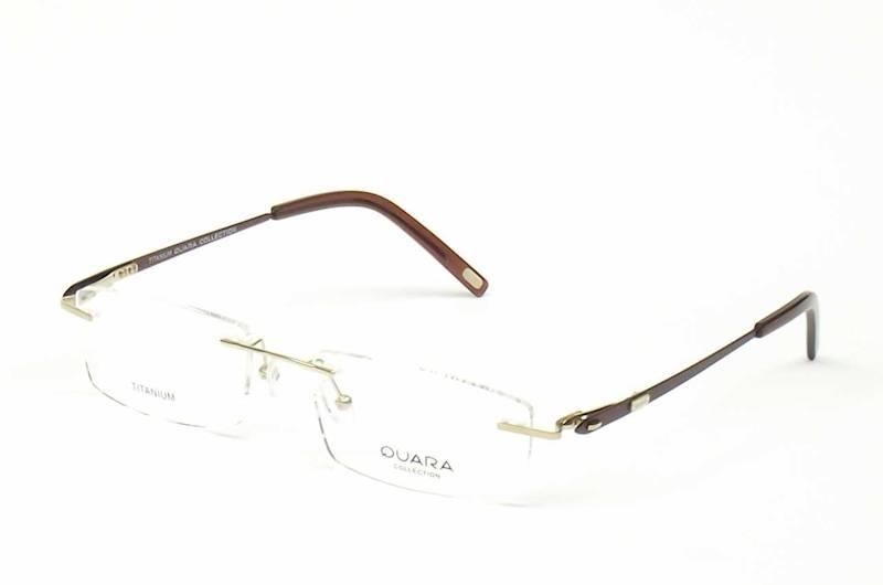 Oprawa okularowa QR1011 C03 Quara - złoto/brąz