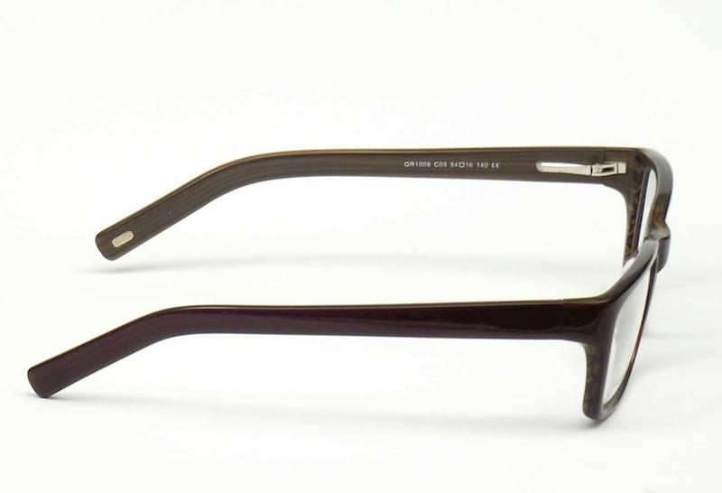 Oprawa okularowa QR1008 C03 Quara - brąz