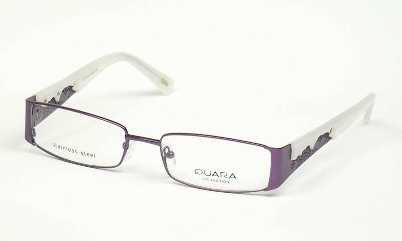 Oprawa okularowa QR1005 C02 Quara - purpura/beż