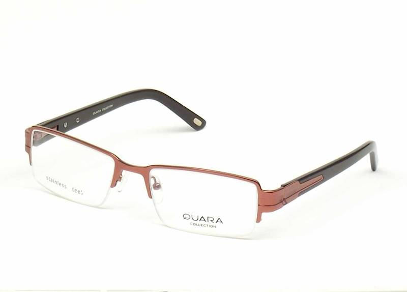 Oprawa okularowa QR1001 C03 Quara - brąz/czarny
