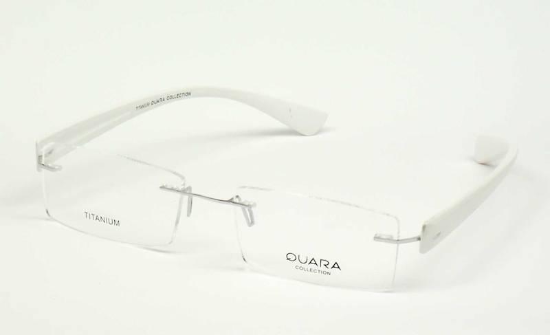 Oprawa okularowa QR1007 C02 Quara - biały
