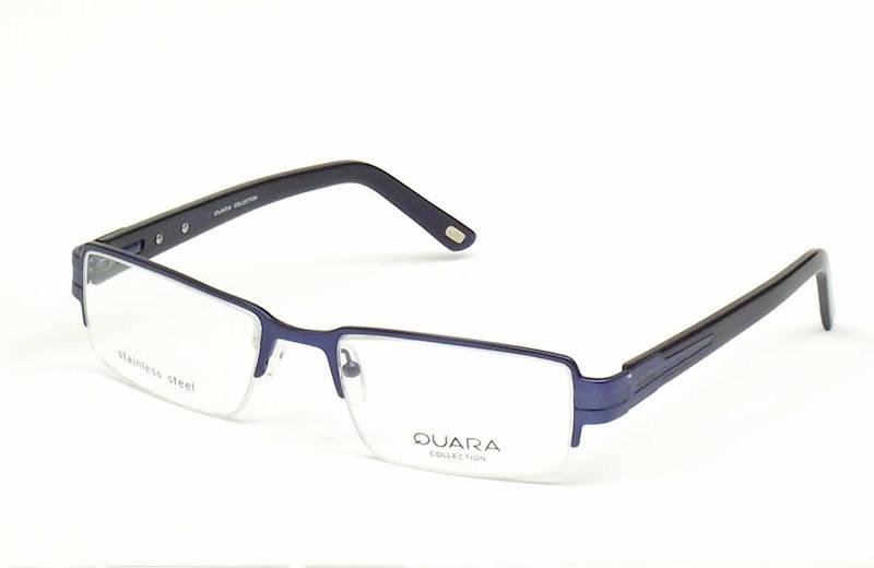 Oprawa okularowa QR1001 C01 Quara - granat/czarny
