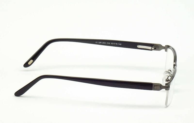Oprawa okularowa QR1203 C32 Quara - gun/czarny